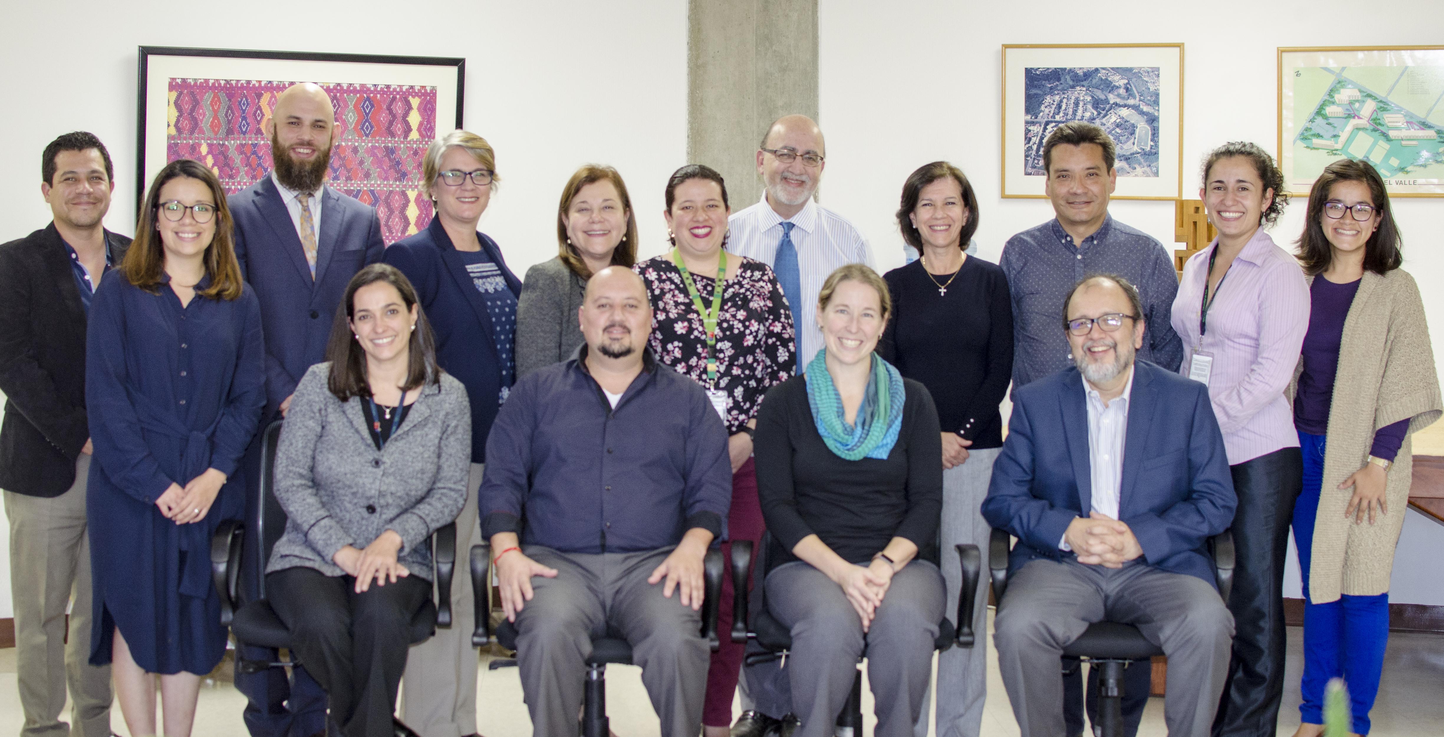RedLEI se reune con el Consejo Consultivo de la UVG